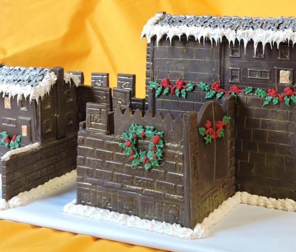 Chocolate Christmas Castle